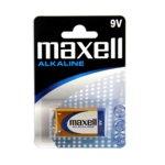 Батерия MAXELL Alkaline 6LR61 9V