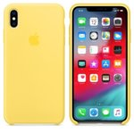 Калъф за iPhone XS Max, Apple Silicone Case - Canary Yellow, силикон, жълт image