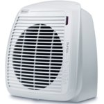 Вентилаторна печка DeLonghi HVY 1030, 2 степени,термостат, механично управление, отопляема площ 60 m3, 2000W, бяла image
