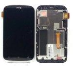 Дисплей за HTC Desire 530, LCD, с тъч и рамка, черен image