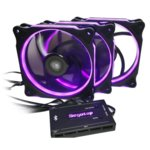 Вентилатор 120mm 3x Segotep Halo Ring RGB, 6-pin, 1100 rpm image