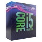Процесор Intel Core i5-9600K шестядрен (3.70/4.60GHz, 9MB Cache, 350MHz-1.15GHz GPU, LGA1151) BOX, без охлаждане image