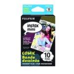 Фотохартия Fujifilm Comic Instant Film, за Fujifilm Instax Mini, 800 ISO, 10 листа image