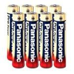 Батерия алкална, Panasonic, AAA (LR03), 1.5V, 4+4 бр. image