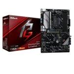Дънна платка ASRock X570 Phantom Gaming 4, X570, AM4, PCI-Е 4.0 (HDMI&DP)(CFX), 8x SATA 6Gb/s, 1x Hyper M.2, 2x USB 3.2 (Gen2, Type-A), ATX image