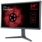"Монитор Hannspree HG 244 PJB, 24"" (60.96 cm) TFT панел, Full HD, 1 ms, 1500000:1, 350cd/m2, 2x HDMI, 1x DisplayPort image"