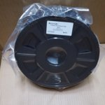 Консуматив за 3D принтер Acccreate, PLA filament, 1.75mm, черен, 1kg image