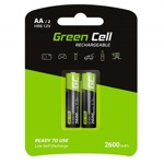 Green Cell 6 AA 2600mAh NiMH 2 бр. GR05-R6-2600mA