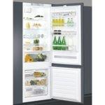 Хладилник с фризер Crown CBR-312W, клас A+, 400л. общ обем, за вграждане, 328 kWh/годишно, саморазмразяване на хладилната част, технология 6th SENSE FreshControl, StopFrost image