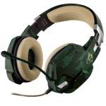 Слушалки Trust GXT322C Carus, микрофон, гейминг, 20 - 20 kHz честотен диапазон, зелен image