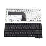 Клавиатура за лаптоп Asus, съвместима със серия Z94/A9T/A9R/X50/X51, US, с кирилица, с черни бутони image