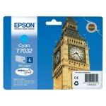 Глава за Epson WP4000/4500/4525 - Cyan - P№ C13T70324010 - Заб.: 800K image