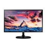 """Монитор Samsung S24F350F (LS24F350FHUXEN), 23.5"""" (59.69 cm) PLS панел, Full HD, 4 ms, 200cd/m2, HDMI, VGA image"""