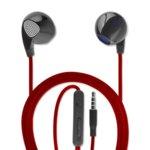 Слушалки 4smarts In-Ear Stereo Headset Melody, микрофон, възможност за контрол на звука, червен image