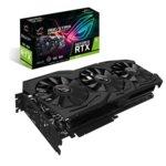 Видео карта Nvidia GeForce RTX 2070, 8GB, Asus Rog Strix, PCI-E 3.0, GDDR6, 256-bit, 3x DisplayPort, 1x HDMI, 1x USB-C image
