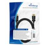 Кабел MediaRange от HDMI(м) към HDMI(м) MRCS197
