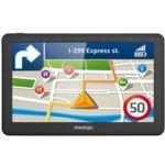 "Prestigio GeoVision 7059, навигация за автомобил, 7"" (17.8cm), 4GB вградена памет, SD/SDHC слот, USB, без вградени карти image"