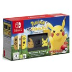 Конзола Nintendo Switch + Pokemon: Let's Go Pikachu & Poke Ball Plus, сива image