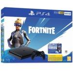 Конзола Sony PlayStation 4 Slim 500GB Fortnite Neo Bundle, черна image