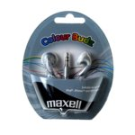 Слушалки MAXELL color BUDS, сребристи, тапи  image