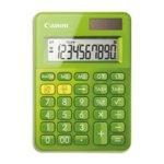 Калкулатор Canon LS-100K, LCD дисплей, 10 цифрен, зелен image