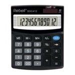 Калкулатор Rebell SDC412 office line, 12 разряден дисплей, черен image