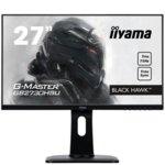 "Монитор Iiyama GB2730HSU-B1, 27""(68.58 cm) TN панел, Full HD, 1ms, 12M:1, 300 cd/m2, VGA, HDMI, DisplayPort, USB image"
