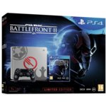 Конзола Sony PlayStation 4 Slim Limited Edition 1TB + Star Wars Battlefront II, сива image