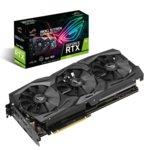 Видео карта Nvidia GeForce RTX 2070, 8GB, Asus ROG Strix Advanced edition, PCI-E 3.0, GDDR6, 256-bit, 2x DisplayPort, 2x HDMI, USB-C image