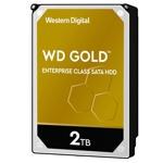 "2TB WD Gold, SATA 6Gb/s, 7200 rpm, 128MB, 3.5""(8.89 cm) image"
