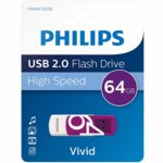 USB Philips VIVID EDITION 64GB 2.0 SE-FM64FD05B