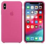 Калъф за iPhone XS Max, Apple Silicone Case - Dragon Fruit, силикон, розов image