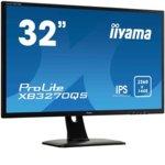 """Монитор Iiyama Prolite XB3270QS-B1, 31.5""""(80.01 cm) VA панел, WQHD, 4ms, 80 000000 : 1, 300 cd/m2, HDMI, DVI, DisplayPort image"""