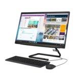 "All In One компютър Lenovo IdeaCentre AIO A340 (F0E600D2RI), шестядрен Coffee Lake Intel Core i5-9400T 1.8/3.4 GHz, 23"" (58.42 cm) FULL HD WVA Touchscreen Anti-Glare Display, 8GB DDR4, 1TB HDD, 2x USB 3.1, Free DOS  image"