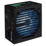 Захранване AeroCool VX PLUS RGB, 600W, Passive PFC, CE, 120mm вентилатор image