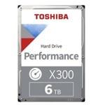 "6TB Toshiba X300, SATA 6GB/s, 128MB, 7200 rpm, 3.5""(8.89 cm) image"