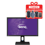 "Монитор 27"" (68.58 cm) BenQ BL2711U, 100% sRGB, IPS панел, 4K2K LED, 4ms, 20 000 000:1, 300 cd/m2, DisplayPort, HDMI, DVI, USB3.0 image"