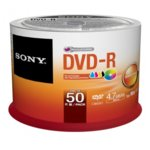DVD-R media 8.5GB, Sony, 2.4x-8x, 50бр. image