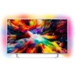 "Телевизор Philips 65PUS7363/12, 65"" (165.1 cm) 4K Ultra HD, Smart TV, DVB-T/T2/T2-HD/C/S/S2, Wi-Fi, LAN, , 4x HDMI, 2x USB, CI+, сребрист image"
