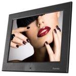 """Фоторамка Hama 8SLB, 8"""" (20.32 cm), XGA, поддържа SD/SDHC/MMC карти, дистанционно, черна image"""
