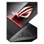 Мост за графични ускорители Asus ROG NVlink/SLI Bridge (2-way) 3-4 Slot, RGB image
