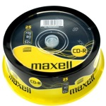 CD-R80 MAXELL Shrink 25pcs