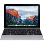 "Лаптоп Apple MacBook (MNYF2ZE/A_Z0TX0003B/BG)(сив), двуядрен Intel Kaby Lake Core m3-7Y32 1.2GHz/3.0GHz, 12.0"" (30.48 cm) WQHD Retina display(USB 3.1 Type C), 8GB LPDDR3, 256GB SSD, macOS Sierra, 0.92kg image"