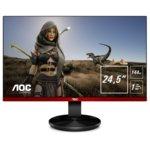 """Монитор AOC G2590FX, 24.5""""(52.23 cm) TN панел, 144 Hz, Full HD, 1ms, 50M:1, 400 cd/m2, VGA, HDMI, DisplayPort image"""