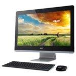 """Настолен компютър с 23.8"""" сензорен мулти-тъч Full HD Display Acer Aspire Z3-710 (DQ.SZZEX.017), дву-ядрен Intel Core i3-4170T 3.2GHz, GeForce 840M 2GB, 4GB DDR3 RAM, 1TB HDD, 2x USB 3.0, клавиатура и мишка, Windows 10 image"""