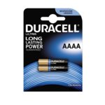 Батерии алкални Duracell, AAAA, 1.5V, LR61, 2 бр. image