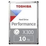 "10TB Toshiba X300, SATA 6Gb/s, 7200 rpm, 256MB, 3.5"" (8.89cm), Bulk image"
