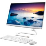 "All In One компютър Lenovo ideacentre A340-22IWL (F0EB004CBG)(бял), двуядрен Whiskey Lake Intel Core i3-8145U 2.10/3.90 GHz, 21.5"" (54.62cm) Full HD дисплей, 4GB DDR4, 1TB HDD, 2x USB 3.0, клавиатура и мишка, Free DOS image"