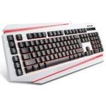 Клавиатура Delux DLK-9500, бяла, подсветка, USB image