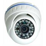 AHD/TVI/CVI/CVBS камера irLAN DE-A1080F3.6S20, куполна камера, 2MPix(1080p), 3.6mm обектив, IR осветеност (до 20 m), за външен монтаж image